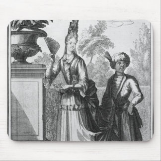 Noblewoman's dress, late 17th century mouse pad