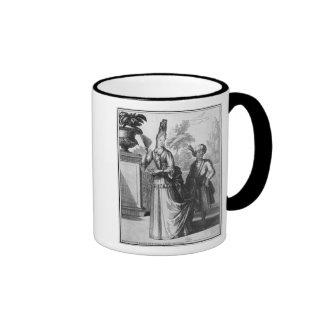 Noblewoman's dress, late 17th century coffee mug