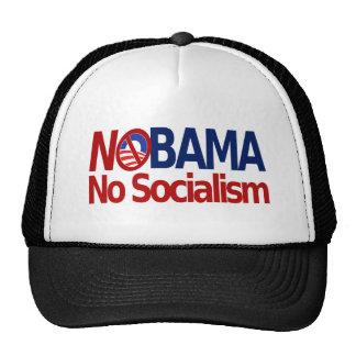NOBMA no socialism Hats