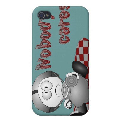 Nobody Cares iPhone 4 Case