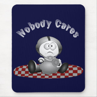 Nobody Cares Mousepad