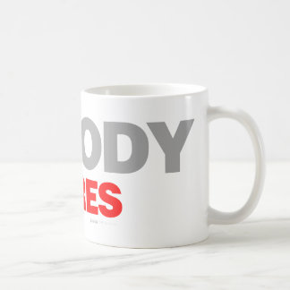 Nobody Cares - sad shout emo shut up funny Mug