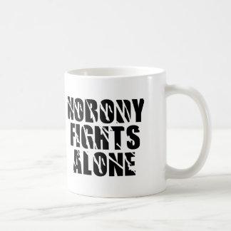 Nobody Fights Alone - Tag Team Coffee Mug