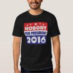 Nobody for president 2016 tshirt