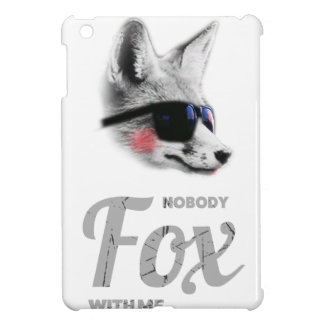 Nobody Fox With Me Animal Sunglasses Funny Case For The iPad Mini
