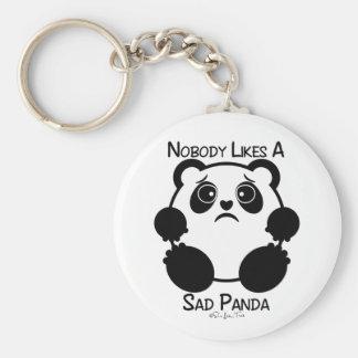 Nobody Likes A Sad Panda Key Ring