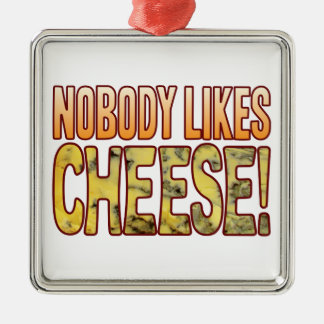 Nobody Likes Blue Cheese Christmas Ornament