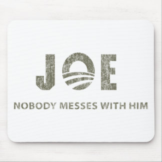 Nobody Messes With Him - Barack Obama Quote Mouse Mat
