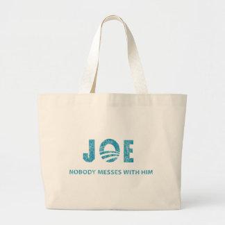 Nobody Messes With Him - Joe Biden Tote Bags