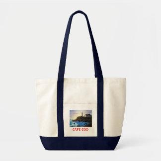 Nobska Lighthouse Cape Cod Massachusetts Tote Bag