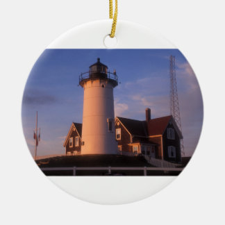 Nobska Lighthouse Christmas Ornament