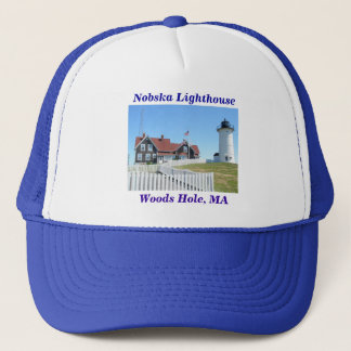 Nobska Lighthouse, Woods Hole, MA #2 Hat