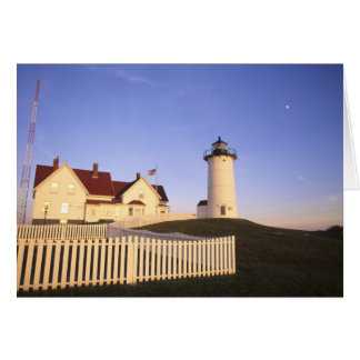 Nobska Lighthouse, Woods Hole, Massachusetts Card