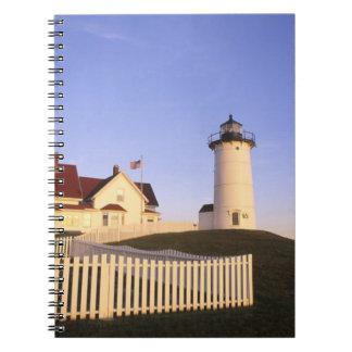 Nobska Lighthouse, Woods Hole, Massachusetts Notebook