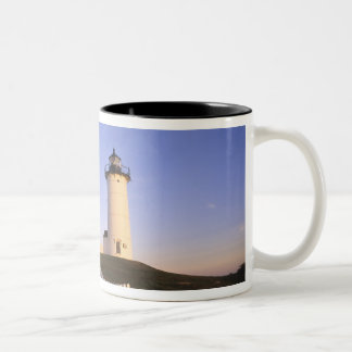 Nobska Lighthouse, Woods Hole, Massachusetts Two-Tone Coffee Mug