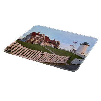 Nobska Point Lighthouse Massachusett Cutting Board