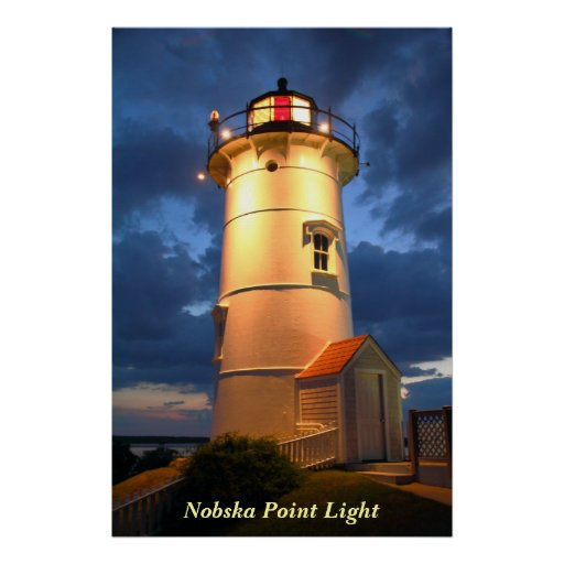 Nobska Point Lighthouse Poster