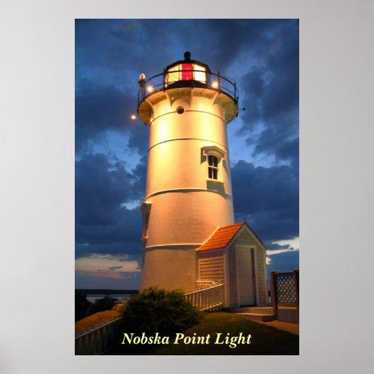 Nobska Point Lighthouse Poster