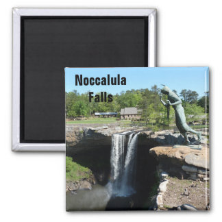 Noccalula Falls Photo Magnet Gadsden Alabama