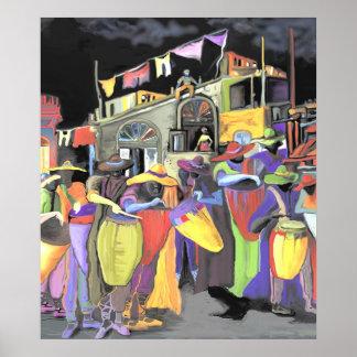 *Noche de tambores Highlight *  THE ALBRUNO'S UNIQ Poster