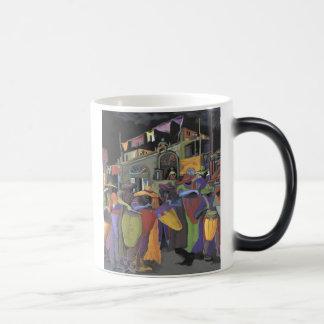 Noche de tambores magic mug