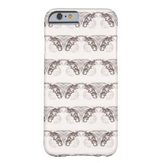Nocturanl Animal Brown and White Feather Barely There iPhone 6 Case
