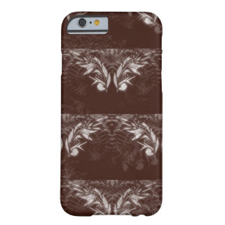 Nocturnal Animal Brown and White Feather Barely There iPhone 6 Case