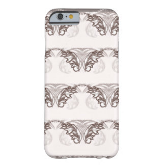 Nocturnal Animal Brown Feather Barely There iPhone 6 Case