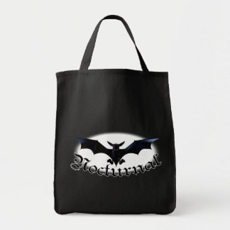 Nocturnal Bat Shopping Bags