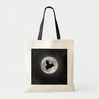 Nocturnal Flying Pig Tote Bag