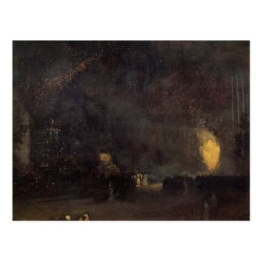 Nocturne, Black and Gold, The Fire Wheel -Whistler