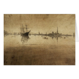 Nocturne by James Abbott McNeill Whistler Card