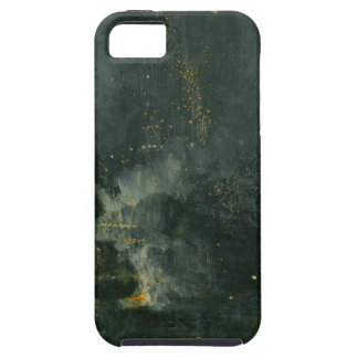 Nocturne in Black and Gold, the Falling Rocket Case For The iPhone 5