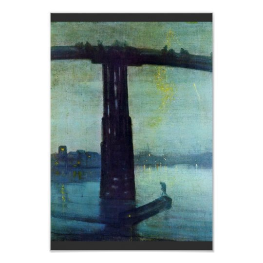 Nocturne In Blue And Gold: Old Battersea Bridge