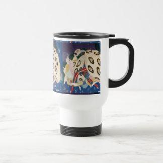 NOCTURNE WITH MASKS / Venetian Masquerade Coffee Mug