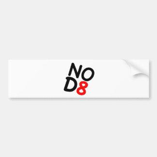 NOD8 Satirical Gifts Bumper Sticker