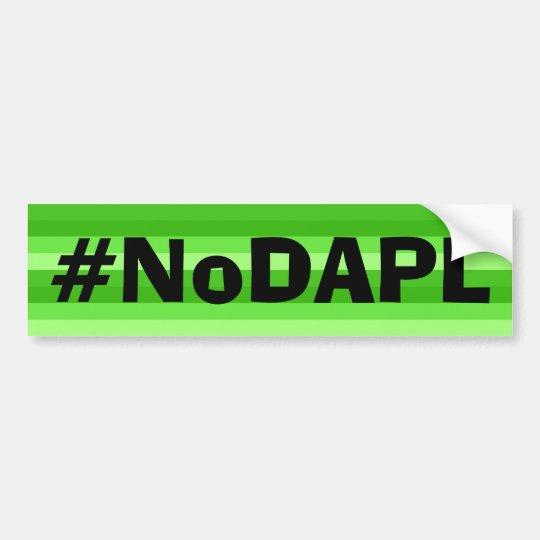 NoDAPL bumper sticker