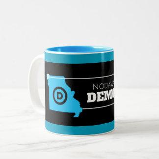 Nodaway County Democrats Blue Mug