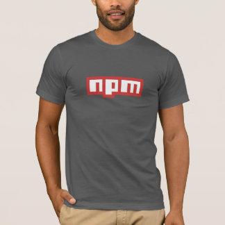 Node Package Manager T-Shirt  (Dark Grey)