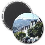 Noe Valley, San Francisco, CA 6 Cm Round Magnet