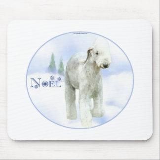 Noel Bedlington Terrier Mouse Pad