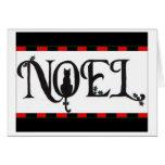 Noel Cat Christmas Card