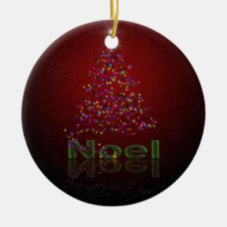 Noel Christmas Christmas Ornament