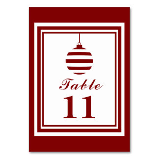NOEL Christmas Holiday Red And White Personalized Card