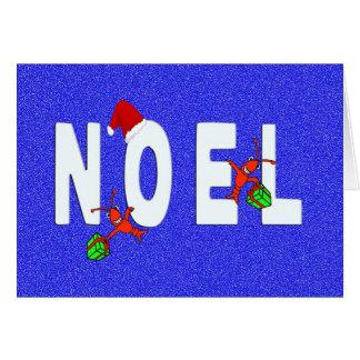Noel Cute Crawfish/Lobster Card