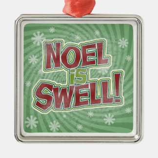 Noel is Swell Christmas Ornament
