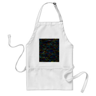 Noel Text Design I Standard Apron
