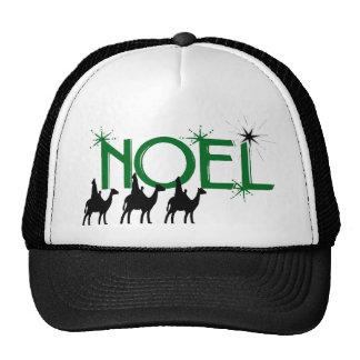 Noel three wise men go to Bethlehem gifts Trucker Hats