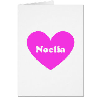 Noelia Greeting Card