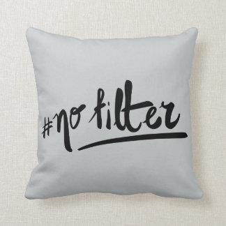 #nofilter cushion